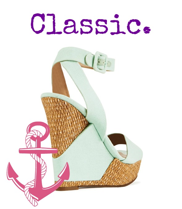 JustFab Wedge Back