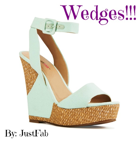 JustFab Wedge Front
